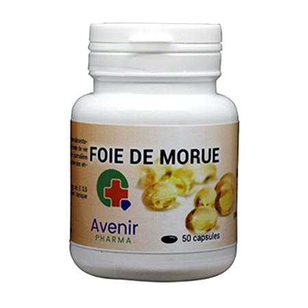 Avenir Pharma Foie de Morue, 50 capsules