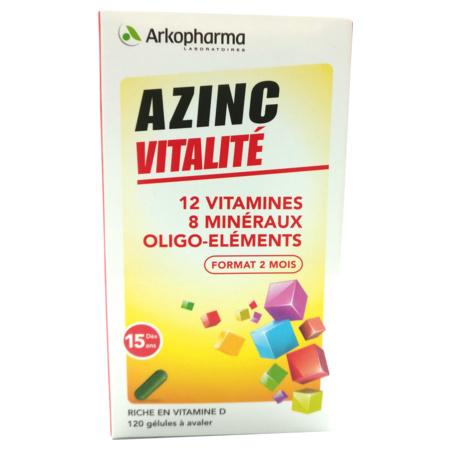 azinc forme et vitalite 120 gelules