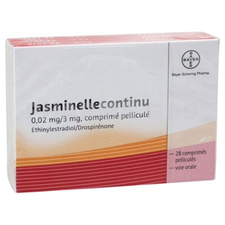 JASMINELLE 0,02 mg/3 mg : prix, notice, effets secondaires ...