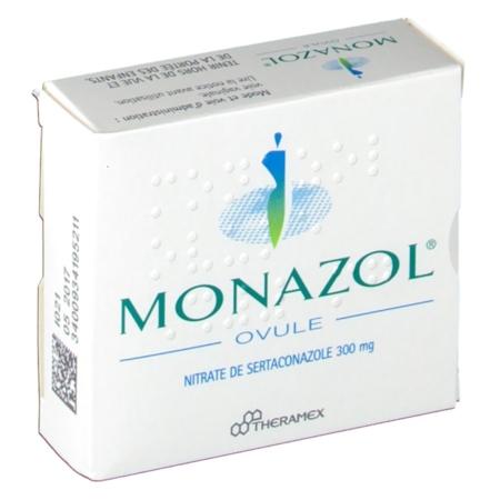 MONAZOL : prix, notice, effets secondaires, posologie - ovule