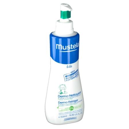 Mustela bebe dermonettoyant gel moussant, 500 ml de savon liquide