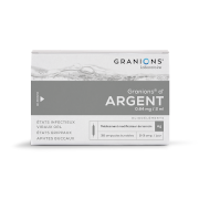 Granions argent 0 mg64/2ml solution buvable, 30 ampoules