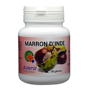 Avenir Pharma Marron d'Inde, 90 gélules