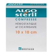 Algosteril compresse sterile 10 cm x 10 cm, x 16