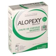 Alopexy 2 %, 3 flacons de 60 ml de solution pour application locale