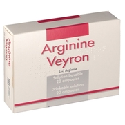 Arginine veyron solution buvable, 20 ampoules