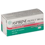 Aspirine protect 100 mg, 30 comprimés gastrorésistants
