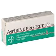 Aspirine protect 300 mg, 30 comprimés gastro-résistants