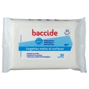 Baccide lingette mains surfaces individuelle 12