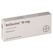 Beflavine 10 mg, 20 comprimés enrobés