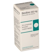 Bevitine 250 mg, 20 comprimés enrobés