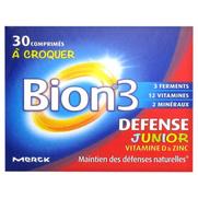 Bion 3 Juniors Comprime à Croquer, x30