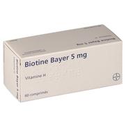 Biotine bayer 5 mg, 60 comprimés