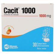 Cacit 1000 mg, 30 comprimés effervescents