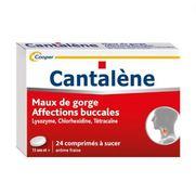 Cantalene, 24 comprimés à sucer