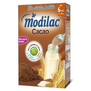 Céréales modilac cacao, 300 g de céréales infantiles