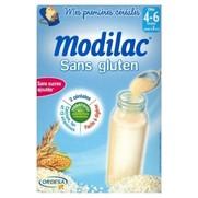 Céréales modilac sans gluten, 300 g de céréales infantiles