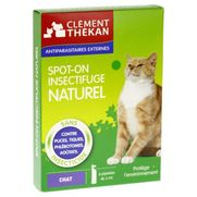 Clément-thékan spot-on insectifuge naturel chat - 4pipettes