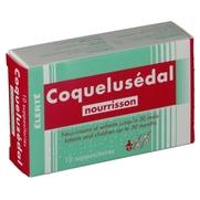 Coquelusedal nourrissons, 10 suppositoires