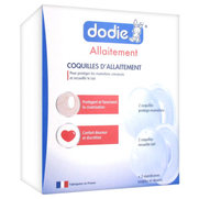 Dodie pack coquilles d'allaitement : 2 protèges mamelons/2 recueils lait