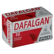 Dafalgan 1 g, 8 comprimés effervescents