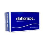 Daflon 500 mg, 60 comprimés pelliculés