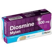 Diosmine mylan 600 mg, 30 comprimés