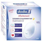 Dodie coussinets d'allaitement nuit - x30