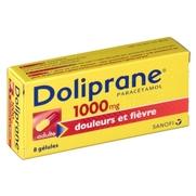 Doliprane 1000 mg, 8 gélules