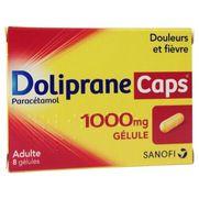 Dolipranecaps 1000 mg, 8 gélules