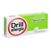 Drill Allergie Cétirizine 10 mg, 7 Comprimés à Sucer