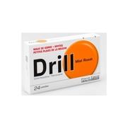 Drill Miel Rosat, 24 pastilles à sucer