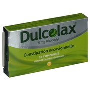 Dulcolax 5 mg, 30 comprimés enrobés gastro-résistants