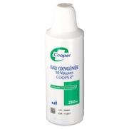 Eau oxygenee 10 volumes cooper, flacon de 125 ml de solution pour application cutanée