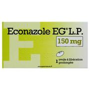Econazole eg lp 150 mg, 1 ovule à liberation prolongée