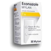 Econazole mylan 1 %, 30 g de poudre pour application cutanée