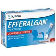 Efferalgan capuccino 1000 mg, granulés en sachet