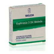 Euphrasia 3dh weleda, 10 flacons unidoses de 0,4 ml de collyre