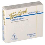 Fero-grad vitamine c 500, 30 comprimés enrobés