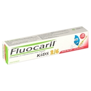 Fluocaril kids gel dentifrice 2 à 6 ans fraise, 50 ml