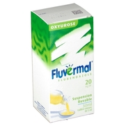 Fluvermal 2 %, flacon de 30 ml de suspension buvable