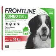 Frontline combo chien xl anti-puces et tiques - 6 pipettes