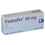 Fumafer 66 mg, 100 comprimés pelliculés