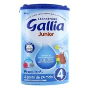 Gallia lait gallia junior 4  à partir de 24 mois 900g