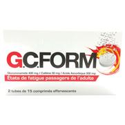 Gcform, 30 comprimés effervescents