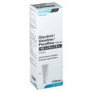 Glycerol/vaseline/paraffine arrow 15 %/8 %/2 %, 250 g de crème