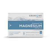 Granions magnesium 3 mg82/2ml sol buvab, 30 ampoules