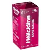 Helicidine 10 % sans sucre, flacon de 250 ml de sirop