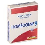 Homeogene 9, 60 comprimés