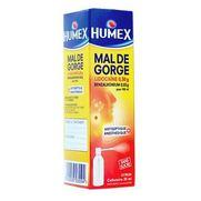Humex mal de gorge, flacon de 35 ml de collutoire